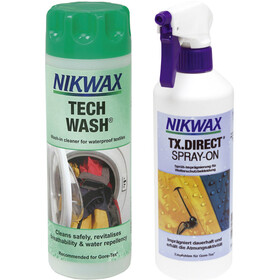 Nikwax Tech Wash + TX.Direct Spray-On 2 x 300ml
